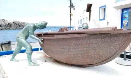 Fischerboot startklar
