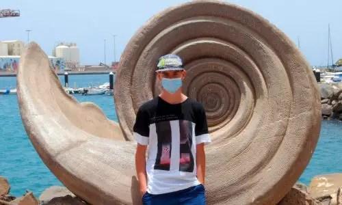 Muschelkunst auf Fuerteventura