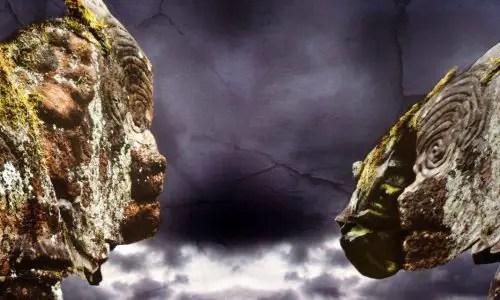 La Palma: Guanchen Gravur alsKunst