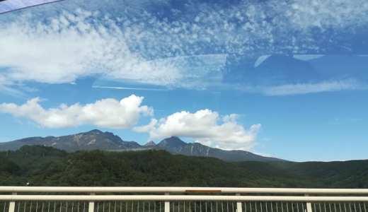 4歳の子どもとレンタカーで大阪から長野・山梨へ行ってきたよ