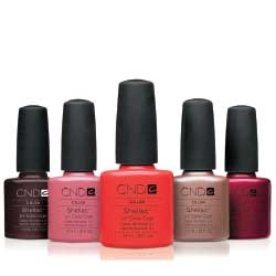 CND Shellac Pedicure or Manicure Kanata