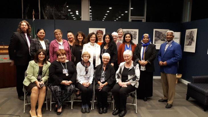 Womens project group picture