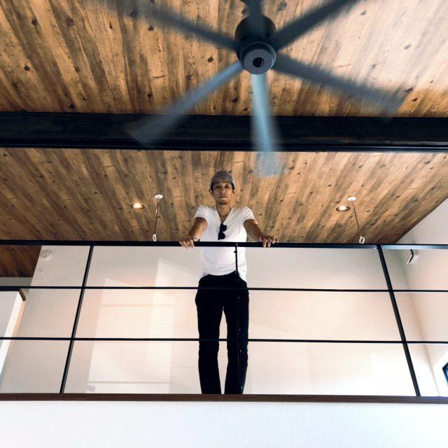 勾配天井での