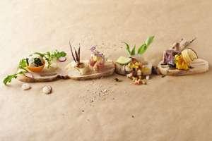 """金沢唯一の野菜バル『 Slow Luck ( スローラック)』。店主がこだわり抜いた野菜で作られる素材を活かした創作料理の数々は、店主の野菜 """"愛"""" すら感じる !!"""
