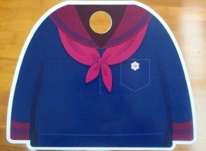 石川初!! 思い出に華を添える制服モチーフの寄書き用紙がとっても素敵♬