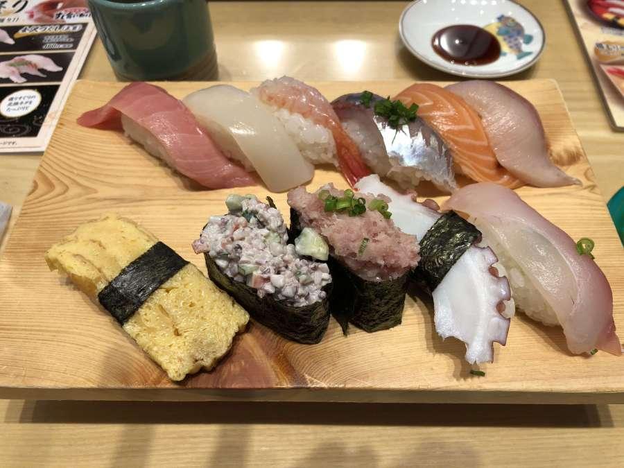すし食いねぇ!! 回転寿司激戦地区でお得なランチにご満悦