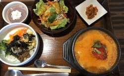 『ふくふくパンチャンの家』でズンドゥブ・ビビンバ ランチ。旨さは本場韓国以上?!