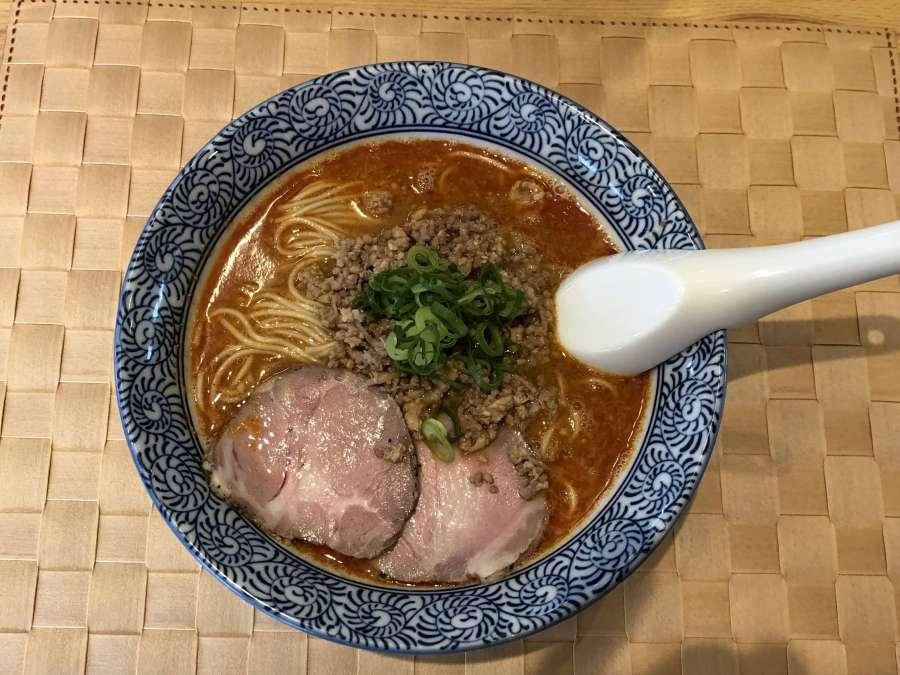 暑い日に食べたいピリ辛味「京担々」 @自家製麺 のぼる