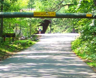 Covered Bridge Campground on Kancamagus Scenic Byway NH