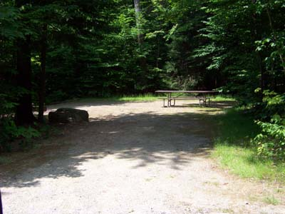 Hancock Campground on Kancamagus Highway New HampshireH