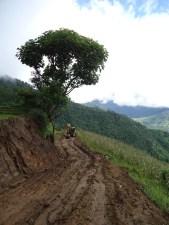 road comes to taji, lamjung
