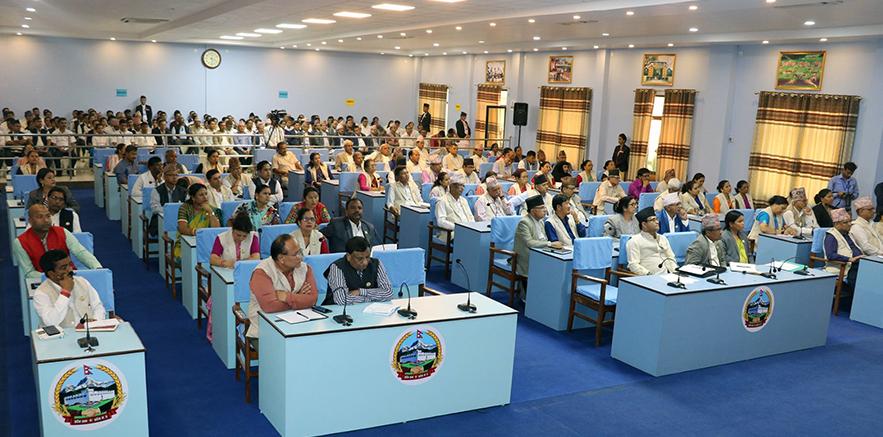 लुम्बिनी प्रदेशसभाको ७ औं अधिवेशन आजदेखी