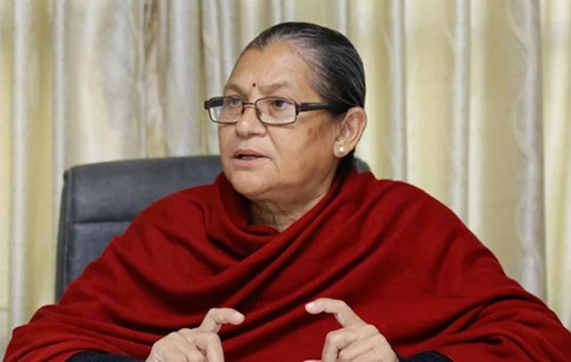 संसदीय दलको नेतामा अष्टलक्ष्मी शाक्य नियुक्त