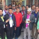खनाल नेतृत्वलाई कौशिलानगरका ब्यापारीहरुको समर्थन