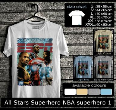 All Stars Superhero NBA superhero 1