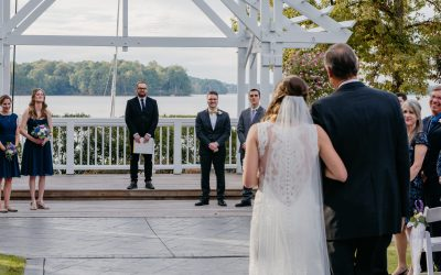 Waiting To See Each Other At The Altar