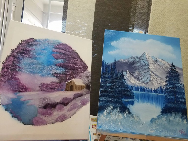 Read more about the article Painting With Bob Ross