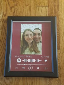 Spotify picture frame