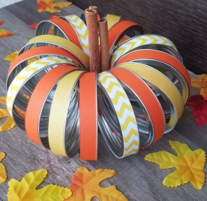 Read more about the article Learn How To Make A Pumpkin Out Of Mason Jar Lids