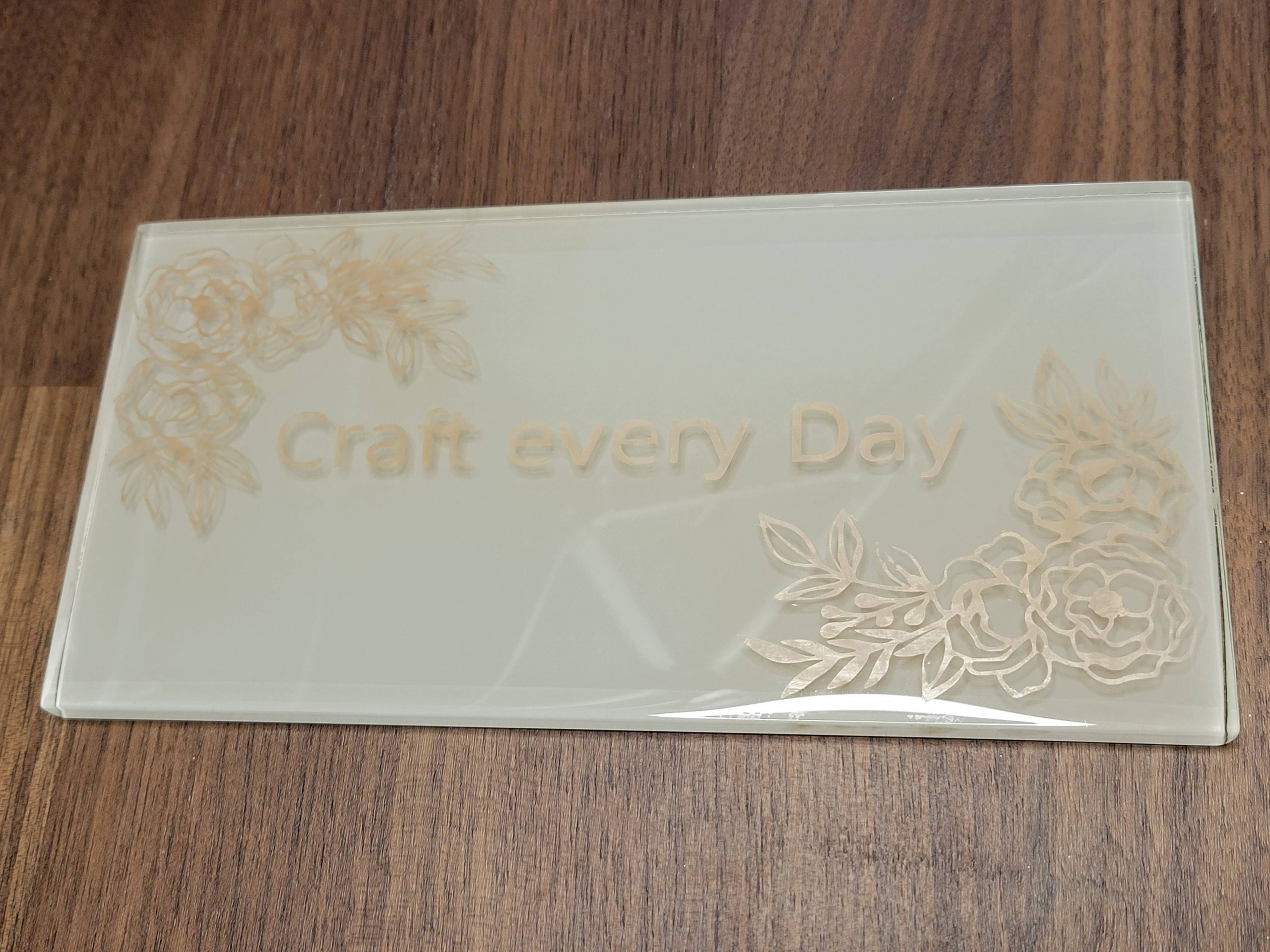 You are currently viewing Glass Etching With Color