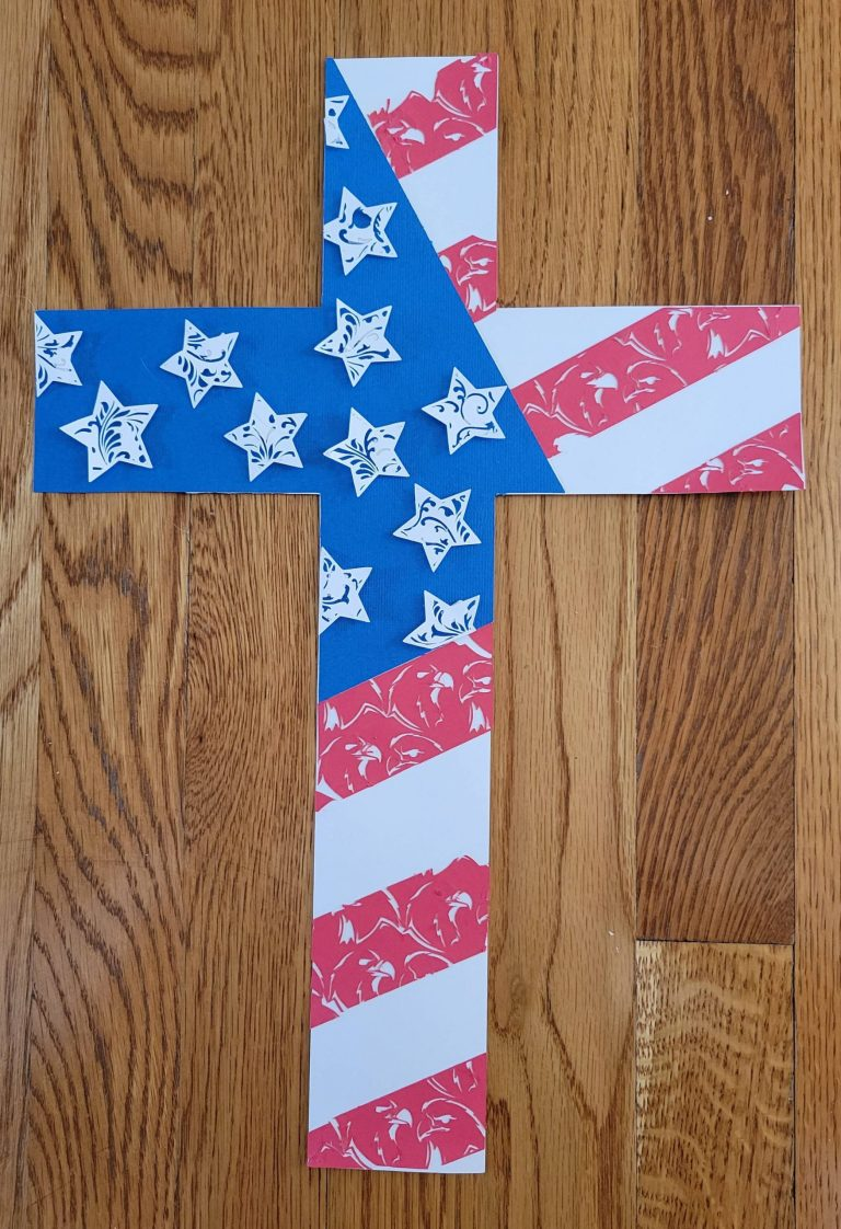 Read more about the article Cross With American Flag Layered Mandala