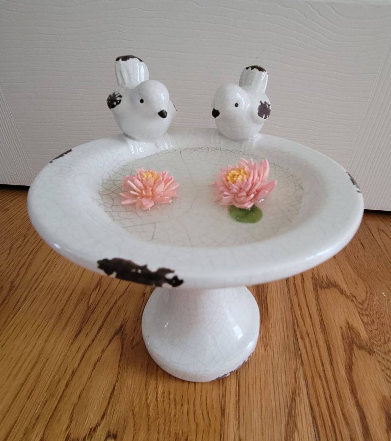 Read more about the article How To Make A Bird Bath With Resin And Hand Painted Sola Wood Flowers