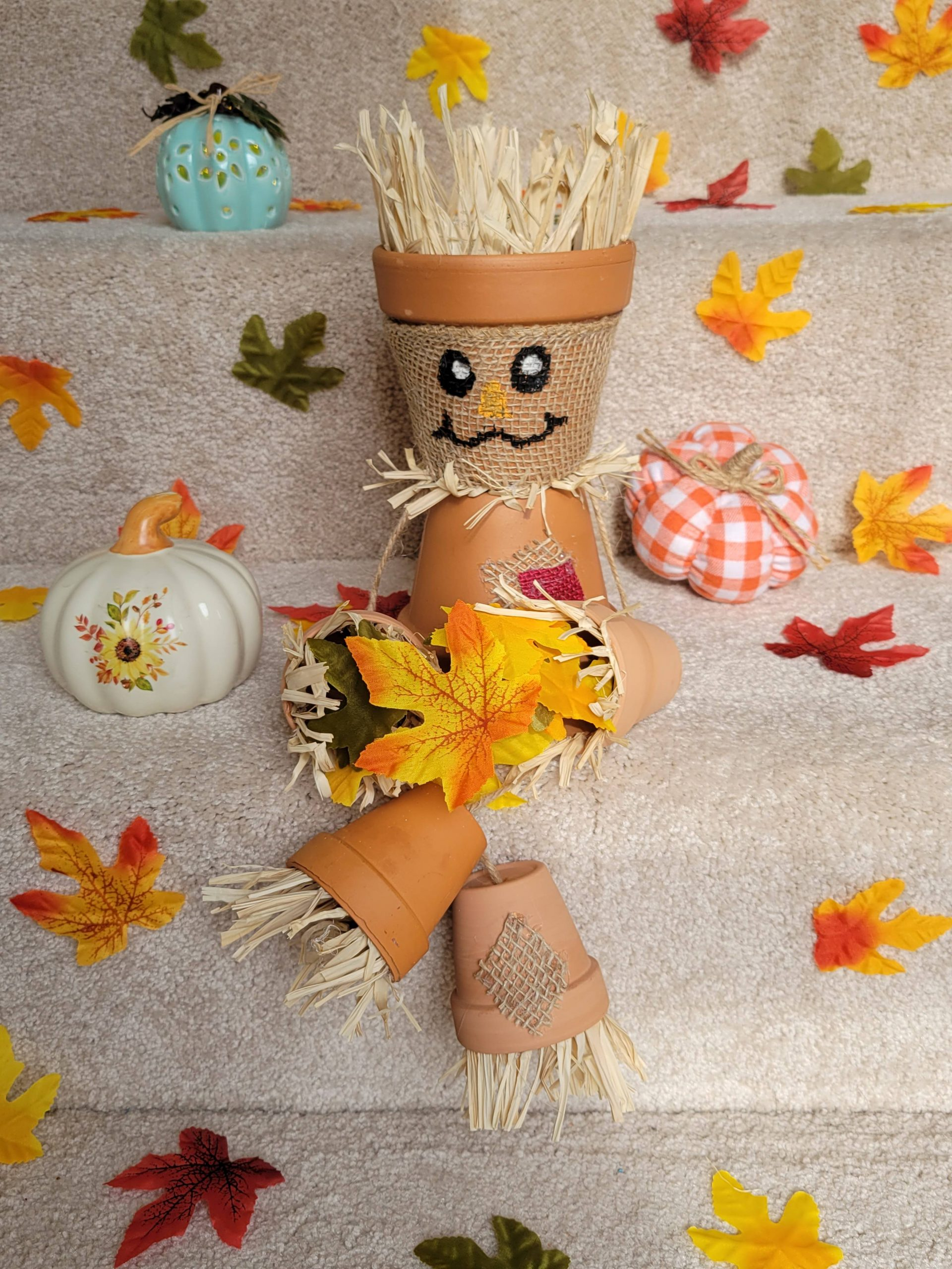 You are currently viewing How To Make A Scarecrow Out Of Terra Cotta Pots