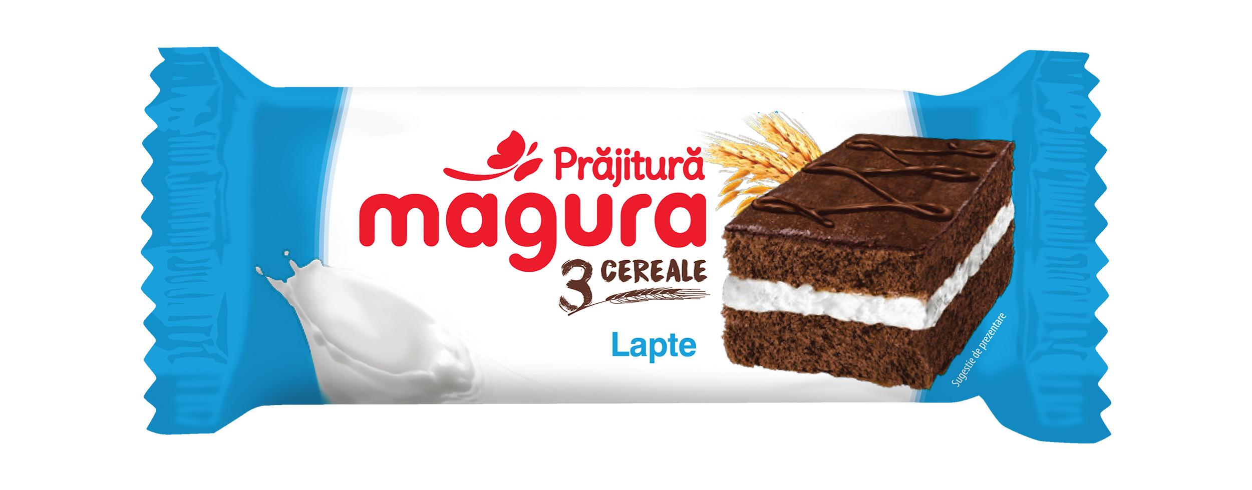 Magura 3 Cereals, Milk Cream 24x30g