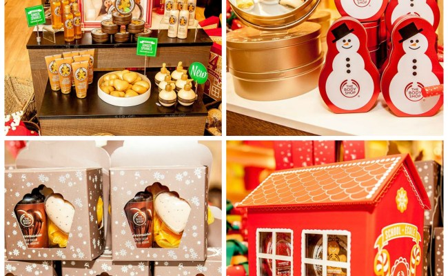 Give Joy With The Body Shop S Christmas Gift Collection