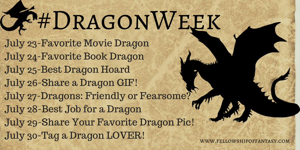 Dragon Week Giveaway and Fun For the Whole Family
