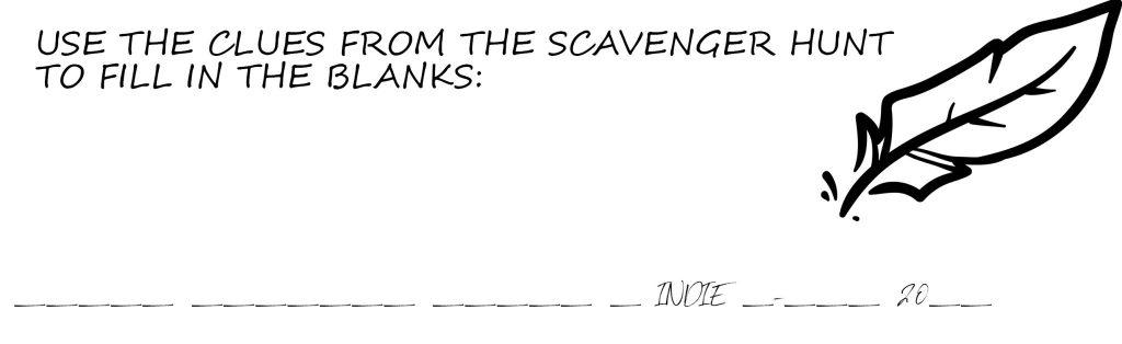 """img=""""scavenger hunt clue"""""""