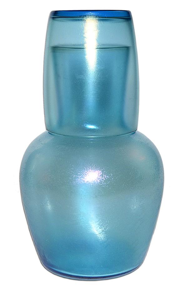 Fenton 401 Celeste Blue Stretch Tumble Up  Night Set