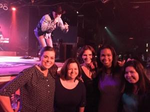 Megan, Jade, Martha, Courtney