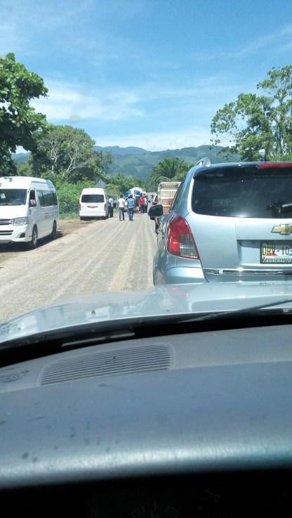 Taxi drivers roadblock because teachers roadblock costs them money