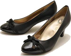 葬式靴エナメル