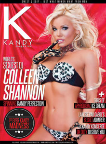 Kandy Magazine DJ Colleen Shannon