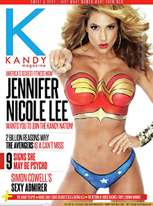 Kandy Magazine Jennifer Nicole Lee Bodypaint