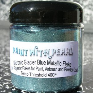 Glacier Blue Metallic Flake