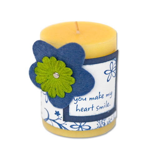 Floral Vines Candle