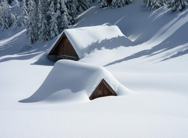 雪害は春先に要注意