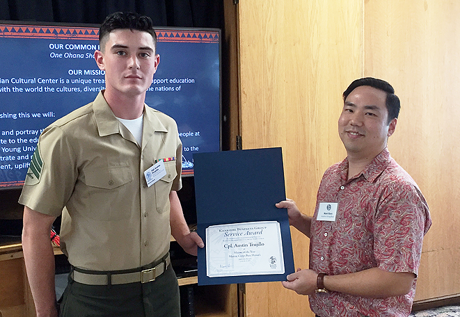 Marine of the Year, Sargent Cyber Security