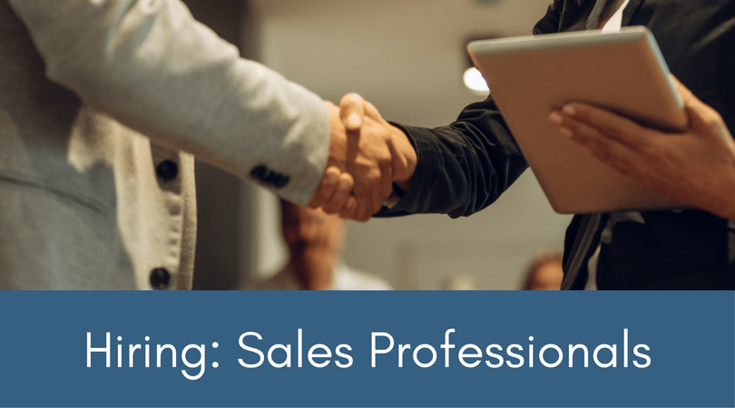Hiring Sales Professionals for Kane Partners Staffing in Lansdale, PA
