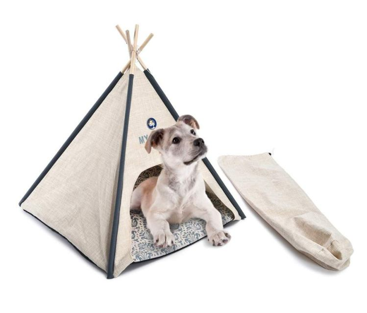 9.Fabric Tent Bed For Pets