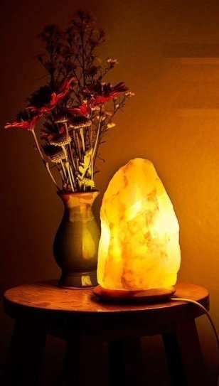 Himalayan Rock Salt lamp Unique lamps