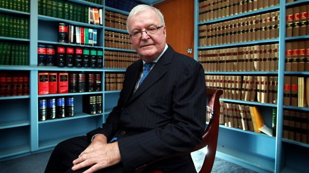 Chief Justice Tom Bathurst - He sees nothing and hears nothing