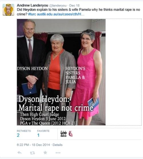 Landeryou - Dyson 18 Dec 2014