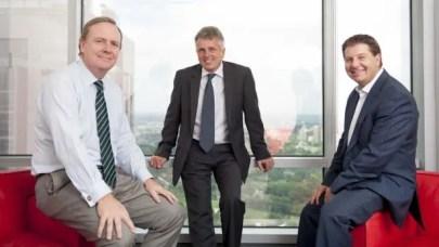 Peter Costello, David Gazard and Jonathan Epstein launch their firm ECG in 2011.