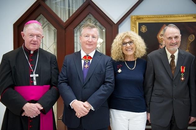 Justice Kunc - Papal award