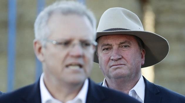 Scott Morrison - Barnaby Joyce
