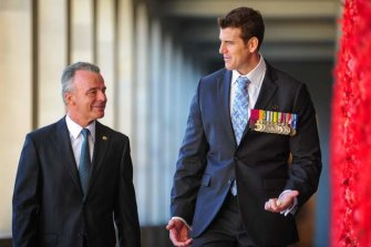 Brendan Nelson and Ben Roberts-Smith